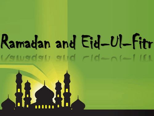 Ramadan & Eid Holiday Letter